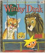Winky Dink A Little Golden Book [Hardcover] [Jan 01, 1956] McGovern, Ann... - $49.62