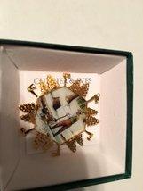WOOD CHOPPER Gold Christmas Ornament - $19.75