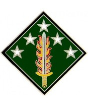 US Army 20th Support Command Combat Service Badge   (2 inch) - $14.84