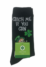 St. Patricks Day Crew Women's Socks Size 4-10 Catch Me If You Can - $4.94