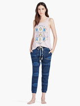 Lucky Brand Mystic Visionary Sacred Geometry Burnout Tank Top T-Shirt Wo... - $39.55
