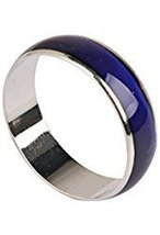 Unisex Color Changing Mood Finger Ring Size 6 w/Random Color and Design image 2