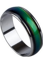Unisex Color Changing Mood Finger Ring Size 6 w/Random Color and Design image 3