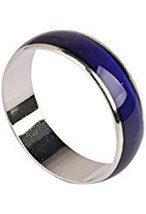 Unisex Color Changing Mood Finger Ring Size 6 w/Random Color and Design image 5