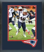 James Develin 2016 New England Patriots Action -11x14 Matted/Framed Photo  - $42.95