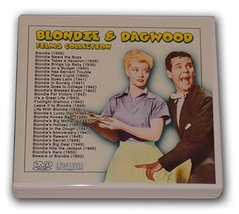 BLONDIE AND DAGWOOD FILMS COLLECTION - 14 DVD-R - 28 FILMS [DVD-R] [1938] - $36.00