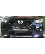 Front Bumper Scuff Guard with LED DRL for 2012-2016 Mazda CX-5 by TMB - $209.95