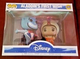 Funko POP! Disney: Movie Moment: Aladdin's First Wish 409 Genie & Aladdi... - $32.99