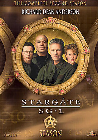 Stargate SG-1: The Complete Second Season 2 DVD Box Set New TV Series