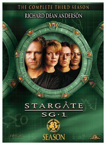 Stargate SG-1: The Complete Third Season 3 DVD Box Set New TV Series