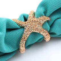 USA Fashion Retro Vintage Fashion Bronze Golden Alloy Sea Animal Starfis... - $211,01 MXN