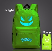 Pokemon GO Gengar Poison Type Green Shade School Bag Backpack - $33.00