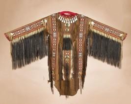 Authentic Native American Indian Deer Skin Bead... - $2,289.00