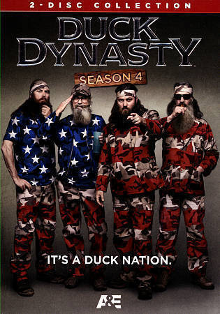 Duck Dynasty: The Complete Fourth Season 4 DVD Set New TV Series