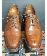 Men's Allen Edmonds Delray Split Toe-Blucher Chilli Leather USA Make 10.... - $94.53