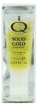 Nail Supplements: Qtica Solid Gold Cuticle Oil Gel (Size : 0.50 oz)