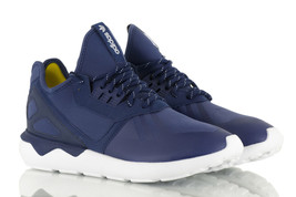 Adidas Originals Tubular Runner Men's Trainers Navy Men's Shoes S81507 - £66.14 GBP