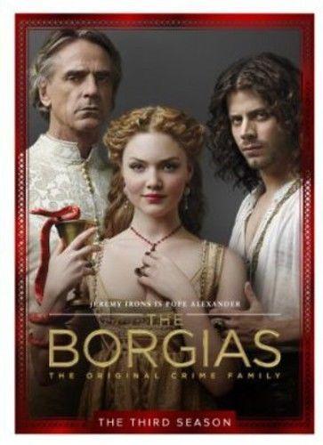 Borgias: The Final Season (DVD, 2013, 3-Disc Set) New TV Series