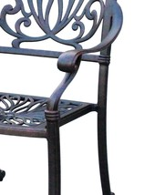 Patio dining set Elisabeth 11pc outdoor furniture Cast Aluminum chairs and table image 5
