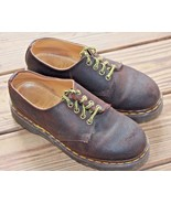 Dr. Doc Marten UK 6 US 8 The Original Brown Leather Oxford England Men's... - $56.99