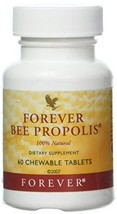 Forever Bee Propolis 100% Natural - 60 Chewable Tablets by Forever image 1