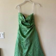David's Bridal Green Dress Size 4 - $78.21