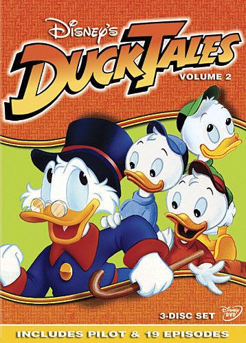 Disney's DuckTales Duck Tales Volume 2 (DVD 3 Disc Set) New Children's TV Series