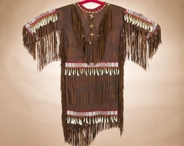 Authentic Native American Indian Supple Elk Ski... - $2,389.00