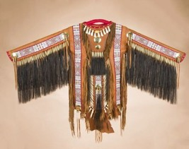 Authentic Native American Indian Saddle Deer Sk... - $2,389.00