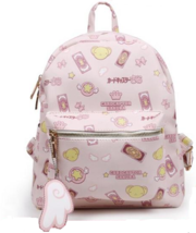 Cardcaptor Sakura Wings Kero Chan Cards Cute Girly School Bag Backpack - $69.99