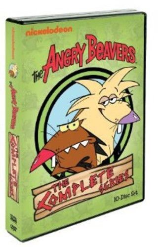 Angry Beavers: The Complete Series (DVD Set) New TV Animation Series