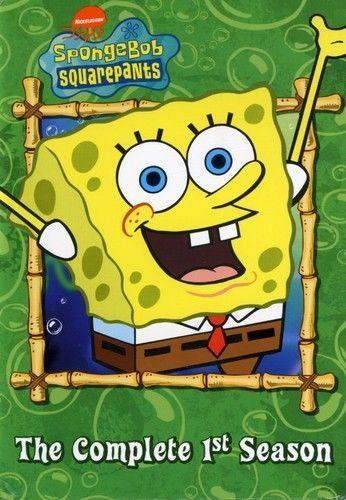 SpongeBob SquarePants Complete First Season 1 (DVD Set) New TV Children's Series