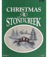Christmas at Stoneycreek Cross Stitch Booklet Book 5 Stoneycreek Collect... - $3.99