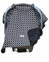 Padalily Infant Car Seat Canopy Cover Blanket Ring Black NEW 005489 - $9.87
