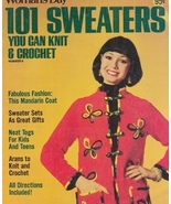 Needlecraft Book- Woman's Day 101 Sweaters You ... - $5.99