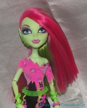 2013 Monster High Music Festival Venus McFlytrap Rocker Plant Girl Fashi... - $21.28