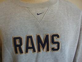 NFL Los Angeles Rams football nike crew neck sweatshirt size 2XL  - $30.68