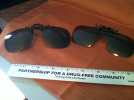Stylish Clip On, Flip Up, Sunglasses LOT OF 2 - $24.38