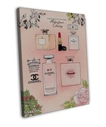 CHANEL NO5 PERFUME IMAGES ( New) 20x16 FRAMED CANVAS Print - $39.95