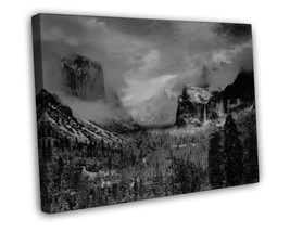 ANSEL ADAMS YOSEMITE VALLEY CLEARING WINTERSTORM FINE ART 20x16 FRAMED C... - $39.95
