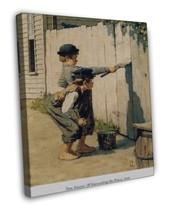 NORMAN ROCKWELL TOM SAWYER WHITEWASHING THE FEN... - $39.95