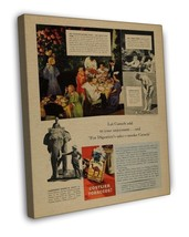 VINTAGE CAMEL COSTLIER TOBACCO CIGARETTE SMOKING AD ART 20x16 FRAMED CAN... - $39.95