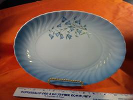 """Christineholm Porcelain """"Blue Bells"""" 11 INCH CHOP PLATTER never used  {N) - $39.08"""
