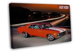 Hot Rod Cars Nice 20x16 FRAMED CANVAS Print - $29.96