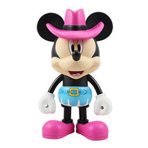 "Disney Vinyl Art Figure Cowgirl Minnie Mouse 6.3"" (16cm) Decor Toy Gift ... - $55.15"