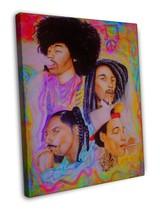 Wiz Khalifa Bob Marley Jimi Hendrix Music Rappe... - $39.95
