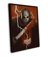 FRIDAY THE 13TH PART VII THE NEW BLOOD Movie 20x16 FRAMED CANVAS Print - $29.96