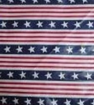Longaberger 1995 All American Carry Along Liner ~ Star Spangled Stripes Fabric - $10.78