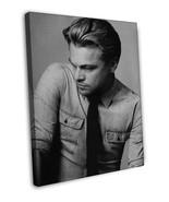 Leonardo DiCaprio Actor Star Wall Decor 20x16 FRAMED CANVAS Print - $39.95