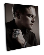 Leonardo DiCaprio Actor Star Wall Decor 20x16 FRAMED CANVAS Print - $29.96